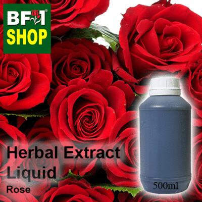 Herbal Extract Liquid - Rose Herbal Water - 500ml