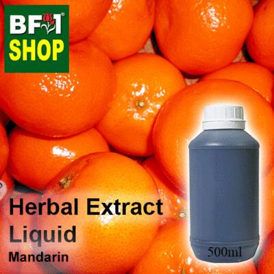 Herbal Extract Liquid - Mandarin Herbal Water  - 500ml