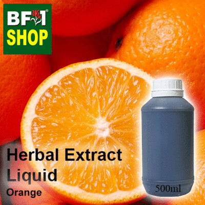 Herbal Extract Liquid - Orange Herbal Water - 500ml