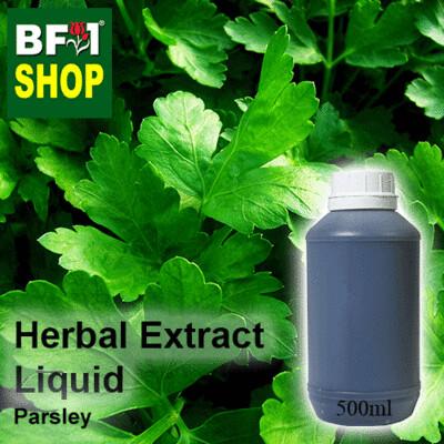 Herbal Extract Liquid - Parsley Herbal Water - 500ml