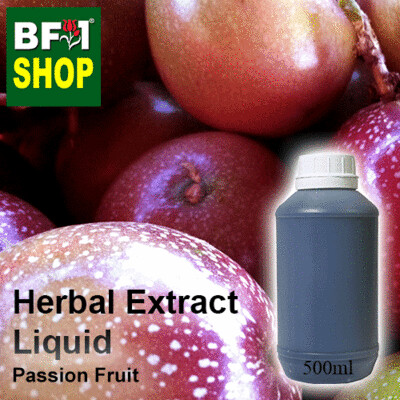 Herbal Extract Liquid - Passion Fruit Herbal Water - 500ml