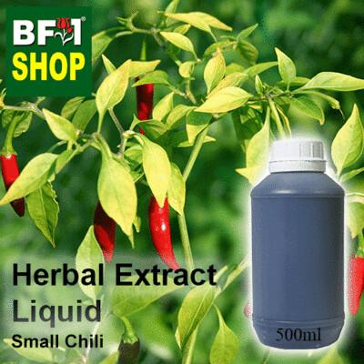 Herbal Extract Liquid - Small Chili Herbal Water - 500ml