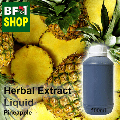 Herbal Extract Liquid - Pineapple Herbal Water  - 500ml