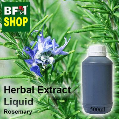 Herbal Extract Liquid - Rosemary Herbal Water  - 500ml