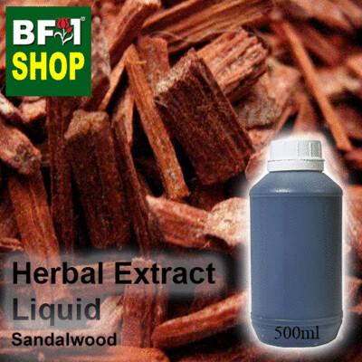 Herbal Extract Liquid - Sandalwood Herbal Water - 500ml