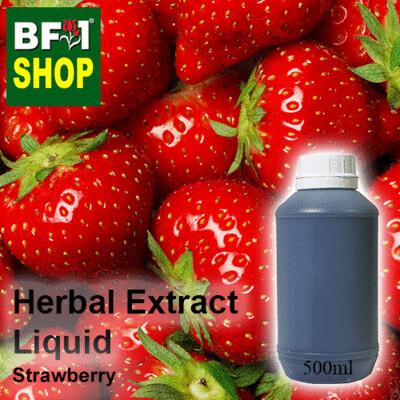 Herbal Extract Liquid - Strawberry Herbal Water - 500ml