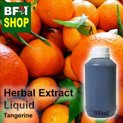 Herbal Extract Liquid - Tangerine Herbal Water  - 500ml