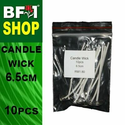 BAP - Candle Wick 6.5cm - 10pcs