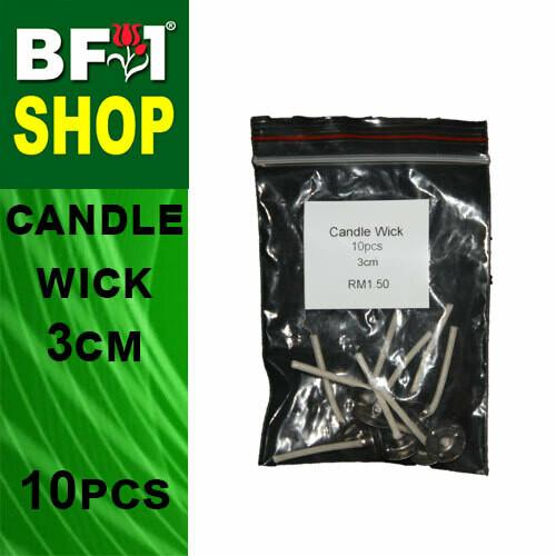 BAP - Candle Wick 3cm - 10pcs
