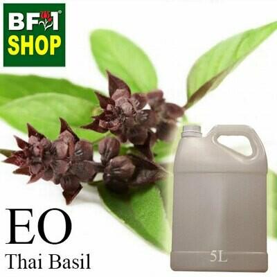 Essential Oil -  Basil - Cinnamon Basil ( Thai Basil ) - 5L