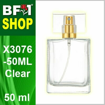 50ml-Perfume Bottle-X3076-50ML-Clear