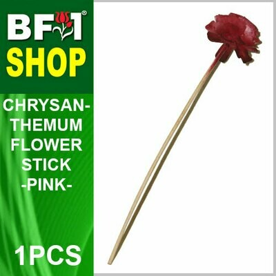 BAP- Reed Diffuser Flower Stick - Chrysanthemum - Pink x 1pc