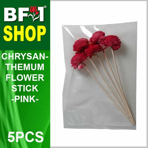 BAP- Reed Diffuser Flower Stick - Chrysanthemum - Pink x 5pc