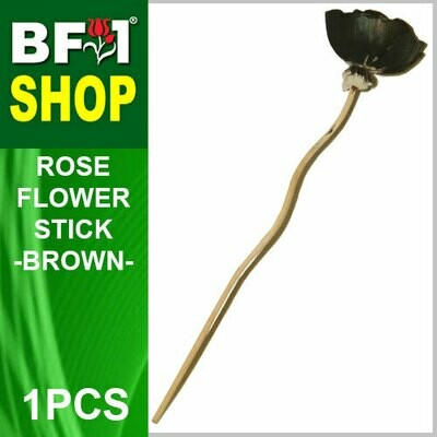 BAP- Reed Diffuser Flower Stick - Rose - Brown x 1pc