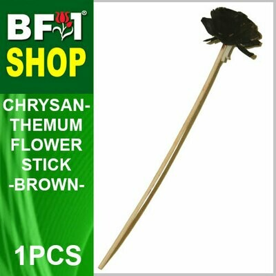 BAP- Reed Diffuser Flower Stick - Chrysanthemum - Brown x 1pc
