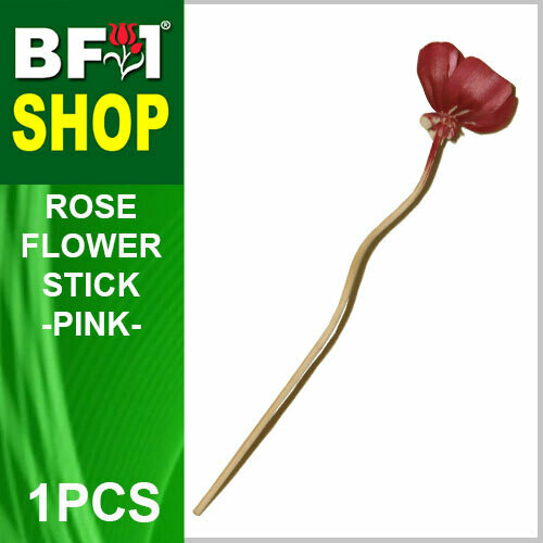 BAP- Reed Diffuser Flower Stick - Rose - Pink x 1pc