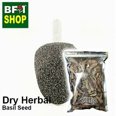 Dry Herbal - Basil Seed ( Ocimum Basilcum ) - 500g
