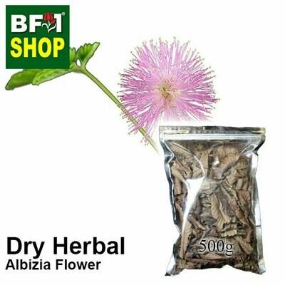 Dry Herbal - Albizia Flower ( Albizia Julibrissin ) - 500g