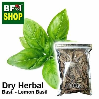 Dry Herbal - Basil - Lemon Basil- 500g