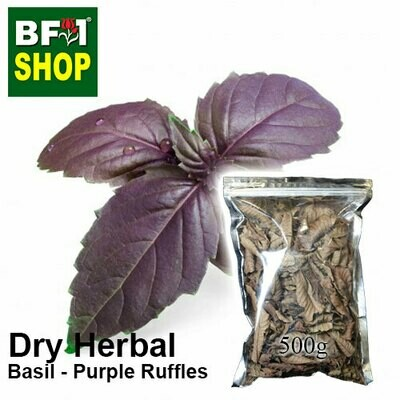 Dry Herbal - Basil - Purple Ruffles Basil - 500g