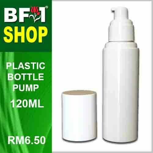 120ml - Plastic Bottle Pump