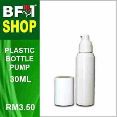 30ml - Plastic Bottle Pump