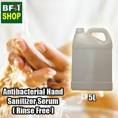 Antibacterial Hand Sanitizer Serum ( 75% Alcohol Rinse Free ) - 5L