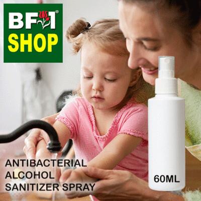 Antibacterial Alcohol Sanitizer Spray ( 75% Alcohol Rinse Free ) - 65ml