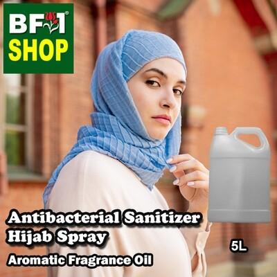 Antibacterial Sanitizer Hijab Spray - Magnolia (White Cempaka) Aromatic Fragrance - 5L