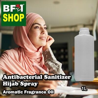Antibacterial Sanitizer Hijab Spray - Magnolia (White Cempaka) Aromatic Fragrance - 1L