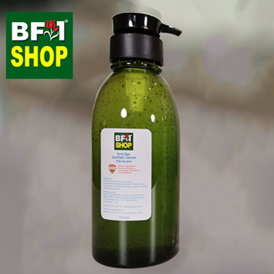 Antibacterial Hand Sanitizer Serum ( 75% Alcohol Rinse Free ) - 500ml