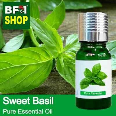 Pure Essential Oil (EO) - Basil - Sweet Basil ( Giant Basil ) Essential Oil - 10ml