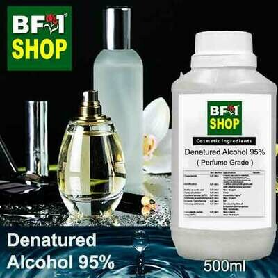 Alcohol - Denatured Alcohol 95% ( Perfume Grade ) - 500ml