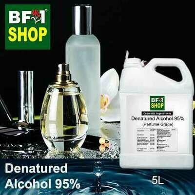 Alcohol - Denatured Alcohol 95% ( Perfume Grade ) - 5L