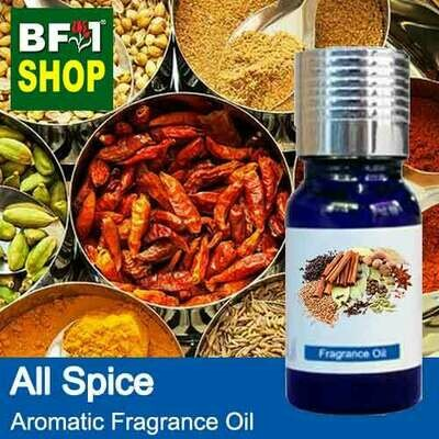 Aromatic Fragrance Oil (AFO) - All Spice - 10ml