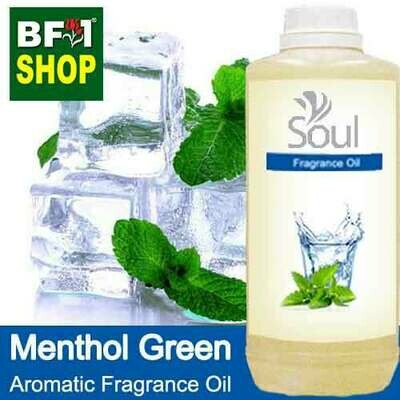 Aromatic Fragrance Oil (AFO) - Menthol Green - 1L