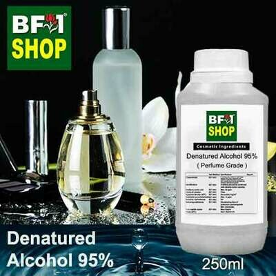 Alcohol - Denatured Alcohol 95% ( Perfume Grade ) - 250ml