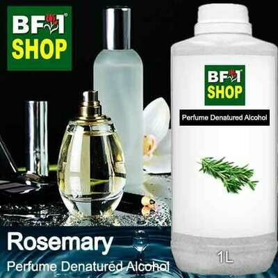 Perfume Alcohol - Denatured Alcohol 75% with Rosemary - 1L