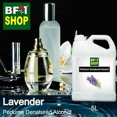 Perfume Alcohol - Denatured Alcohol 75% with Lavender - 5L
