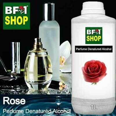 Perfume Alcohol - Denatured Alcohol 75% with Rose - 1L