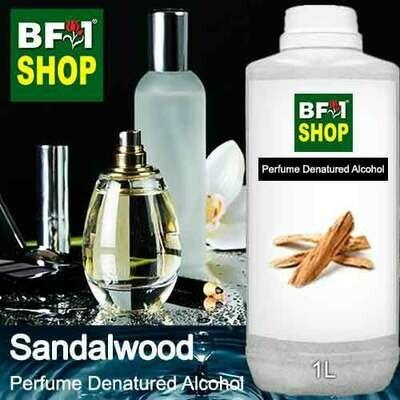 Perfume Alcohol - Denatured Alcohol 75% with Sandalwood - 1L