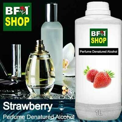 Perfume Alcohol - Denatured Alcohol 75% with Strawberry - 1L