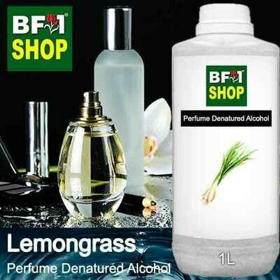 Perfume Alcohol - Denatured Alcohol 75% with Lemongrass - 1L