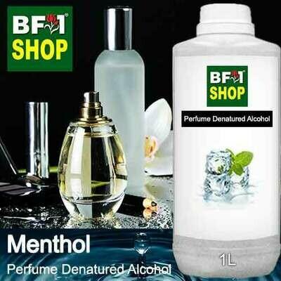 Perfume Alcohol - Denatured Alcohol 75% with Menthol - 1L