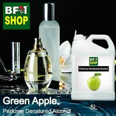 Perfume Alcohol - Denatured Alcohol 75% with Apple - Green Apple - 5L