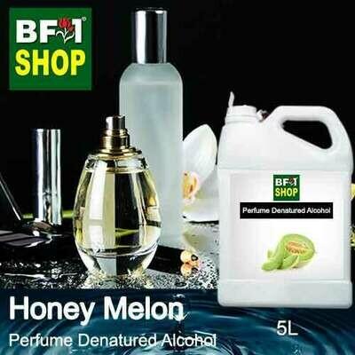 Perfume Alcohol - Denatured Alcohol 75% with Honey Melon - 5L