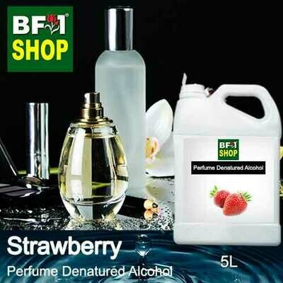 Perfume Alcohol - Denatured Alcohol 75% with Strawberry - 5L