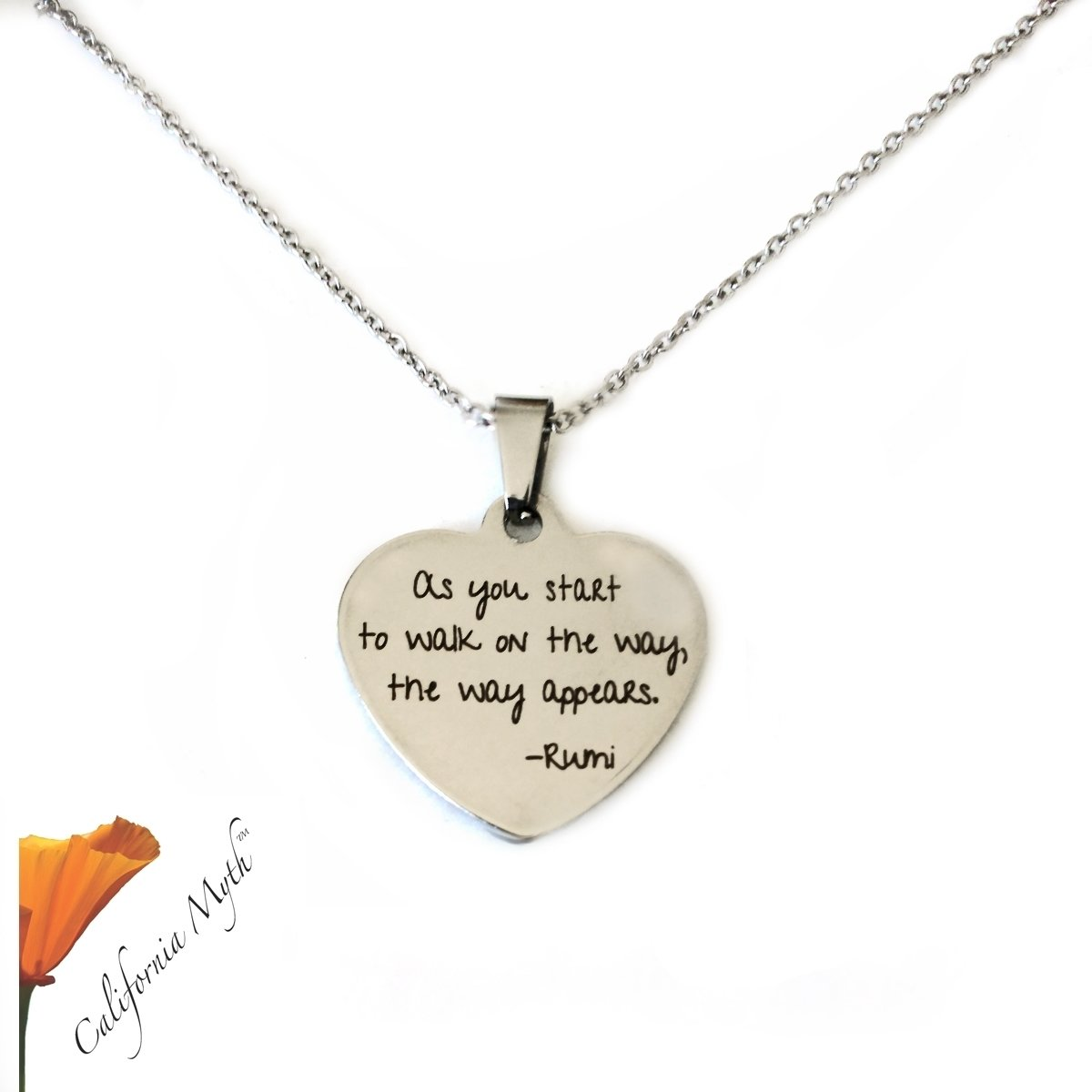 As You Start Pendant Necklace