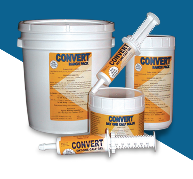 Convert™ Calf Care Products - Gel Tube Single Dose