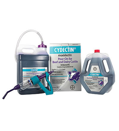 Cydectin® (moxidectin) Pour-On for Beef and Dairy Cattle